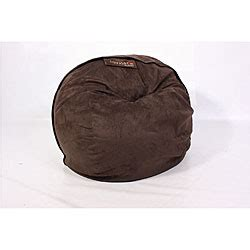 Lovesac Citysac by Lovesac Citysac 4 Foot Lounge Chair Espresso Brown