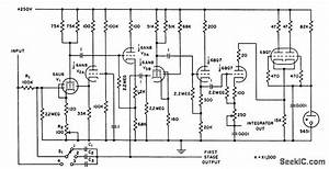 Reed Switch Controls Operational Amplifier