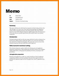 sample memo new assignment