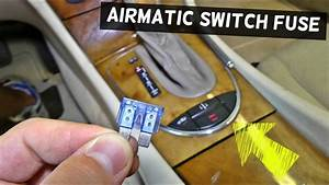 Mercedes W211 Airmatic Control Switch Fuse