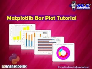 Matplotlib Bar Plot