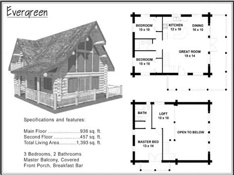 cabin blueprints log cabin floor plans with wrap around porch log cabin