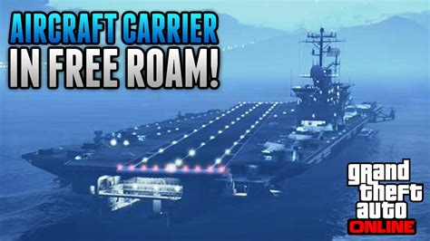 How To Get The Aircraft Carrier & Yacht In