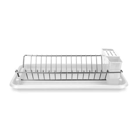 kitchen sink drainer tray home basics clear compact dish drainer dd01997 the home 5763