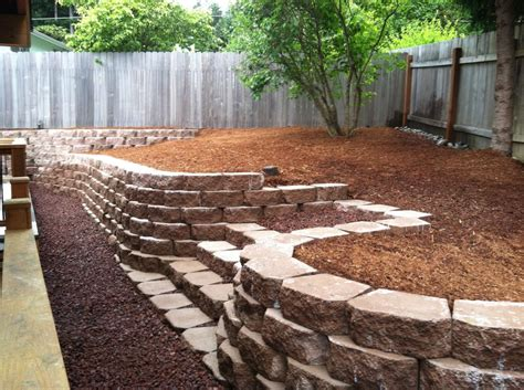 retaining concrete wall retaining wall block ideas john robinson house decor