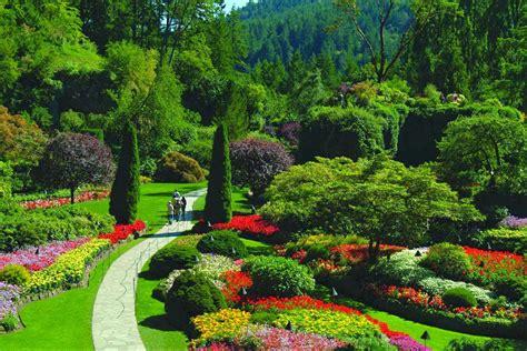 pictures of butchart gardens butchart garden canada