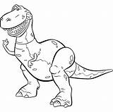 Toy Story Coloring Pages Disney Printable Barbie Characters Colouring Dinosaur Rex Toys Popular Check Everyone sketch template