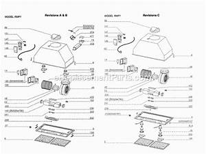 Broan Rmp17004 Parts List And Diagram   Ereplacementparts Com
