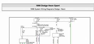 Dodge Neon Sport 1998 System Wiring Diagrams