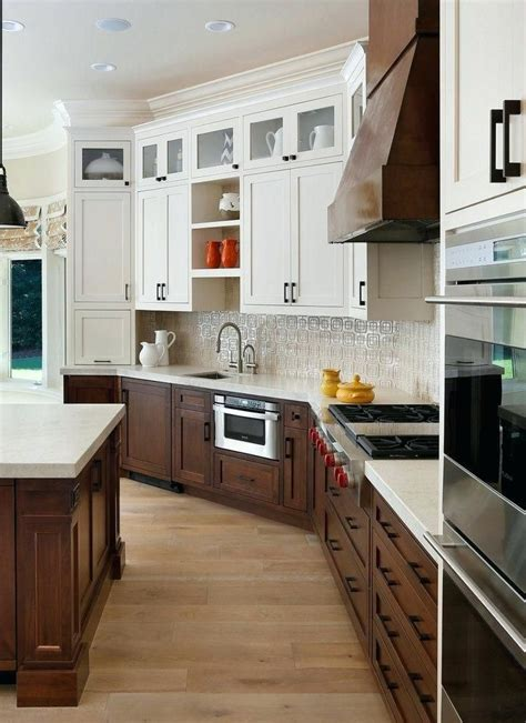 white upper cabinets wood  google search