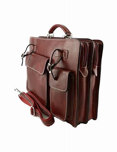 Leather Genuine Bag Business Poni Mod Previous