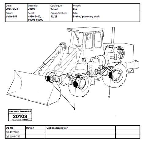 volvo bm  wheel loader parts  service manuals