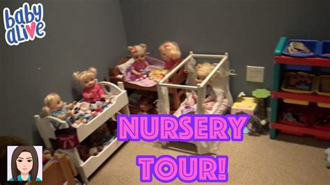 Updated Baby Alive Nursery Tour! New Nursery! Youtube