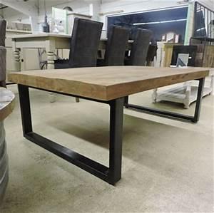 Table Salon Industriel : table indus ~ Melissatoandfro.com Idées de Décoration