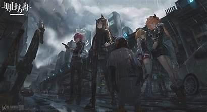 Arknights Wallpapers Ark Penguin Logistics Engine Anime