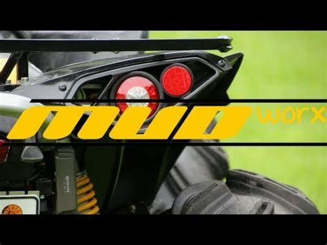 can am outlander tail light can am renegade 800 or 1000 tail lights youtube