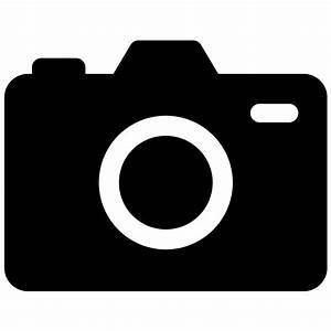 DSLR Camera Vector Icon | Free Vector Silhouette Graphics ...