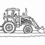 Tractor Coloring Pages Plow Plows Printable Truck Snow Drawing Tractors Trailer Allis Chalmers Sheets Template Deere John Getdrawings Getcolorings Adult sketch template