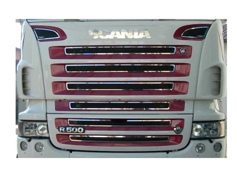 Interni Scania R - profilo interno mascherone inox scania r