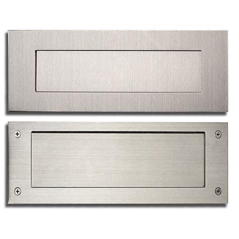 door mail slot stainless steel modern contemporary door mail slot 13 in 3429