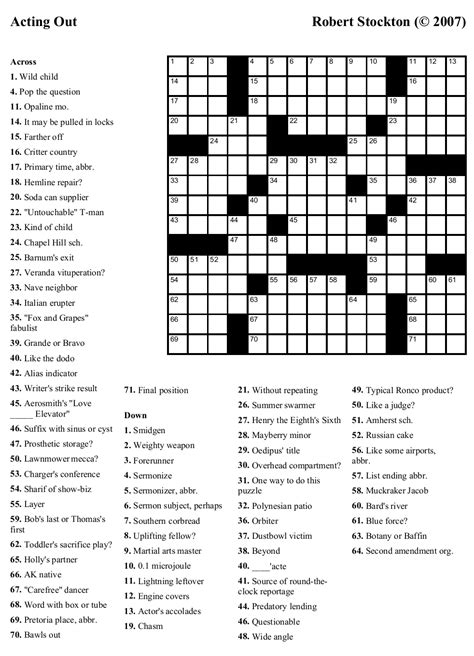 Free printable word games for dementia patients. Free Printable Crossword Puzzles For Dementia Patients | Printable Crossword Puzzles