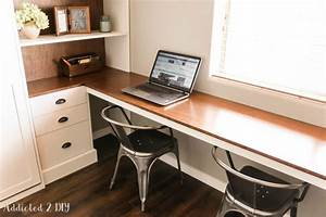 DIY Modern Farmhouse Murphy Bed - How To Build The Desk