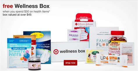 Target Wellness Family Box Free With Purchase Or 10