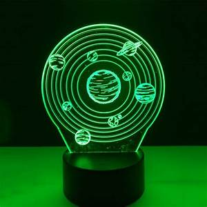 3D Illusion LED Lamps - 20% off + Worldwide shipping