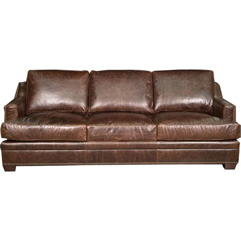 vintage brown leather sofa antique 97 quot brown leather sofa 6782