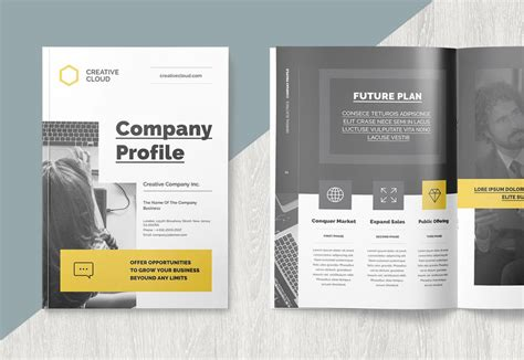 company profile brochure templates decolorenet