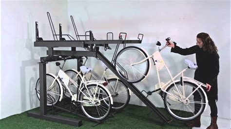 falcolevel  tier cycle parking youtube