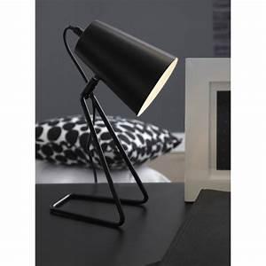 Lampe De Chevet Noir : lampe e14 moeta inspire m tal noir 40 w leroy merlin ~ Teatrodelosmanantiales.com Idées de Décoration