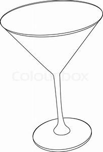Martini Glass Clipart Black And White - Best Glass 2017