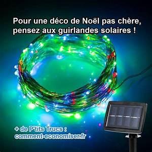 Guirlande Solaire Pas Cher : deco noel exterieur solaire ~ Teatrodelosmanantiales.com Idées de Décoration