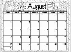 Kindergarten Monthly Calendar Printable » Calendar