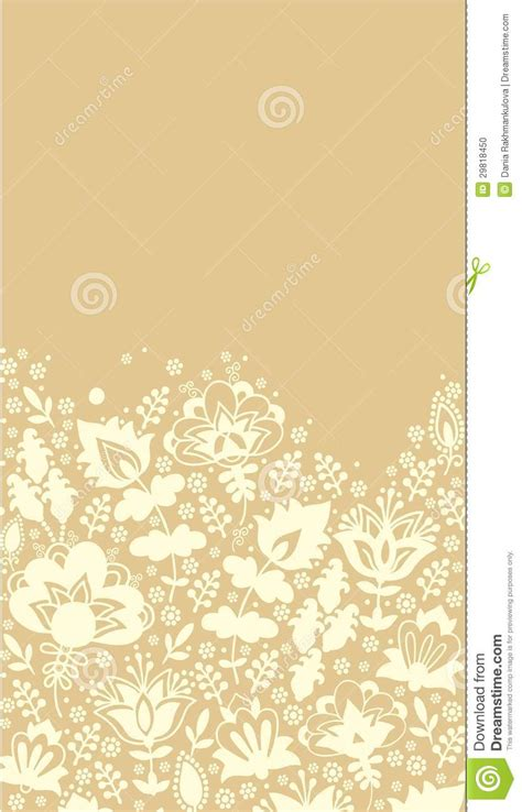contoured floral border stock photo image  febrary