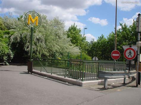 maisons alfort les juilliottes メゾン アルフォール レ ジュイオット駅 パリの地下鉄 メトロ metro a