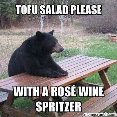 Vegetarian Memes - vegetarian bear