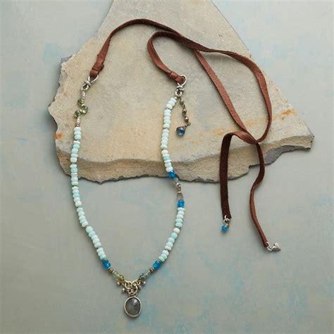 opal bay necklace robert redford s sundance catalog