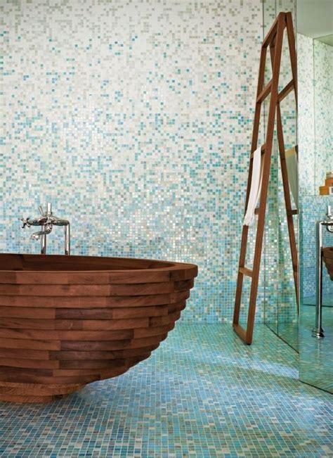 Badezimmer Ideen Blau by Ausstattung Badezimmer Fliesen Mosaik Blau Ideen