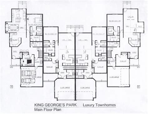 delightful luxury townhome floor plans 25 genius luxury townhouse designs home building plans