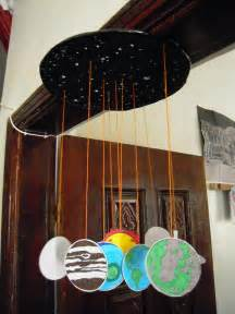 Paper Solar System Mobile Project