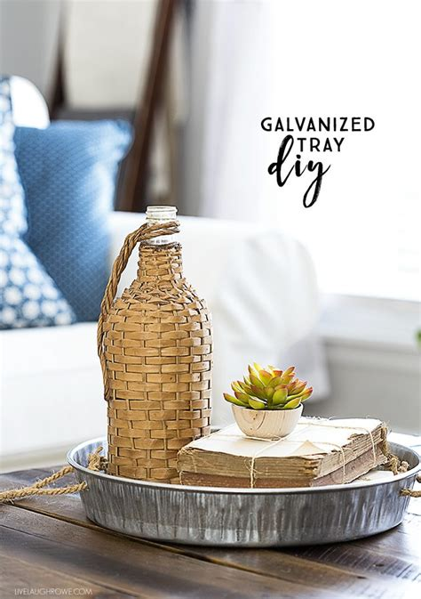 galvanized home decor ideas  inspire