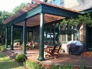 Adding Pergola Shade Paul Setti Associate Front Porch Pergola Design Ideas