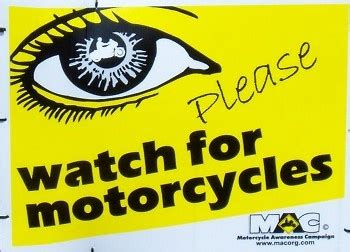 motorcycle awareness images  pinterest