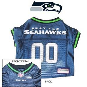 nfl pet fan gear seattle seahawks jersey shirt tank