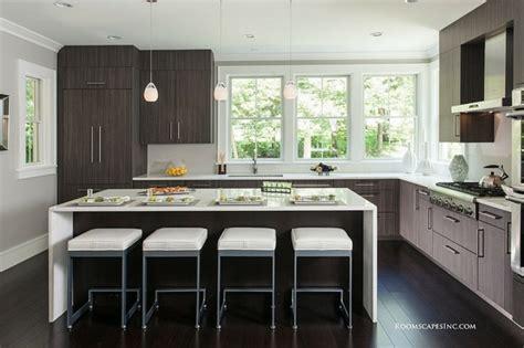 fenetre bandeau cuisine cuisines design 110 idées pour un aménagement tendance