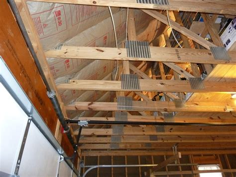 insulating a garage insulate garage ceiling picture the better garages how