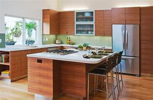 15 charming mid century kitchen designs that will take you With mid century modern kitchen design