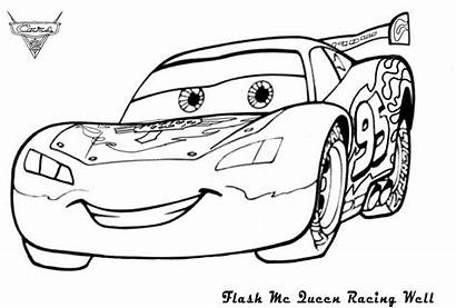 Mcqueen Lightning Coloring Pages Monster Truck Drawing